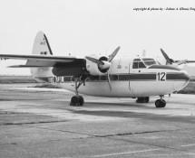 Hunting-Percival Pembroke RM12 (OT-ZAL) Brussel-Melsbroek 28-7-1972 J.A.Engels