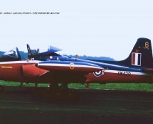 Jet Provost XW429 RAF 6FTS Eindhoven 3-7-1993 J.A.Engels