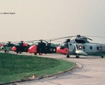 Sikorsky S-61 U-276 Deense LM (+ flight-line) Ypenburg 28-5-1970 dia-coll.J.A.Engels