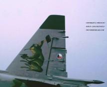 Sukhoi SU-25 9013 (staart) Tsjech.LM Eindhoven 3-7-1993 J.A.Engels