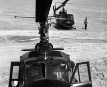 Vliehors UH-1D at Vliehors Shooting Range