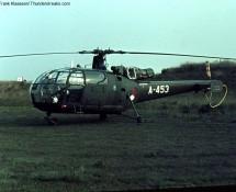 Alouette III , K.Lu. at Pampa Range (FK)