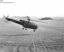 Alouette III A-235 at the Vliehors shooting range