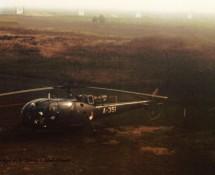 Alouette III , K.Lu. at  Pampa Range(HE)