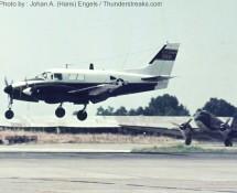 Beechcraft U-21 15891 U.S.Army (visiting) (HE)