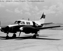 Beechcraft U-21 U.S.Army (visiting) (HE)
