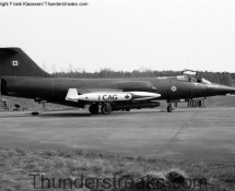CF-104G Starfighter CAF 1 CAG
