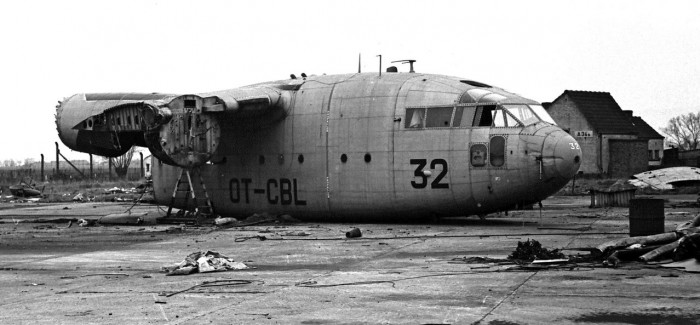 Base Visit Koksijde (Belgium), January 11th,1977
