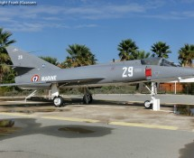Etendard displayed in Frejus, near to the old airbase, in May 2012 (FK)