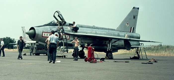 Base visit Leeuwarden (NL), June, 1973 (RAF Lightnings)