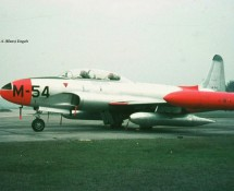 lockheed t-33 -m54-eindhoven-21-10-1969-j-a-engels
