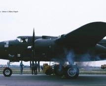 (warbird) N.A. B-25 Mitchell HD346 (N320SQ) MVK Valkenburg 1-6-1990 J.A.Engels