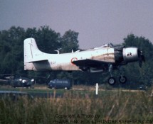 (warbird) douglas-skyraider-126965-oo-for-eindhoven-20-9-1986-j-a-engels