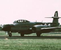 (warbird) gloster-meteor-tt-20-wm167-g-losm-eindhoven-19-9-1986-j-a-engels