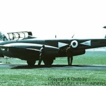 (warbird) gloster-meteor-tt-20-wm167 g-losm-eindhoven19-9-1986-j-a-engels