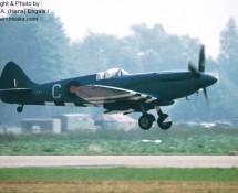 (warbird) ps853-supermarine-spitfire-raf-bob.mem-flt_-brustem-9-9-1989-j-a-engels