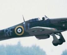 (warbird) pz865-hawker-hurricane-bob-mem-flt_-brustem-9-9-1989-j-a-engels