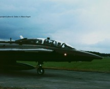 (warbird) saab-draken-tf-35-oy-ska-ex-at-158 deense lm-oostmalle-1996-j-a-engels