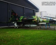Saab Viggen 51-21 Zweedse LM Aviodrome Mus. 4-11-2012 J.A.Engels
