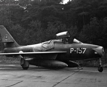 P-157 F-84F Thunderstreak KLu
