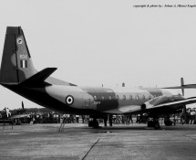 Andover XS604 RAF Wildenrath 6-7-1968 J.A.Engels