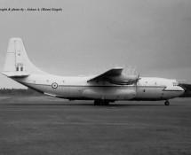 Belfast XR370 RAF Wildenrath 6-7-1968 J.A.Engels