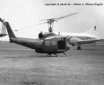 Bell UH-1 13770 U.S.Army Wiesbaden 13-6-1971 J.A.Engels