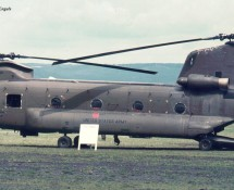 Boeing-Vertol CH-47A Chinook 60104 U.S.Army Wiesbaden , Duitsland , 13-6-1971 J.A.Engels
