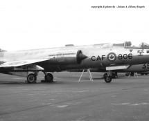 CF-104G CAF-806 (104806) Canadese LM Wiesbaden 13-6-1971 J.A.Engels