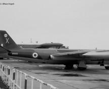 Canberra WH801 (X) RAF Wildenrath 6-7-1968 J.A.Engels