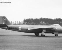 Canberra WT337 A RAF 14 sq.  Wildenrath 6-7-1968 J.A.Engels