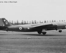 Canberra WT523 Q RAF 17 sq. Wildenrath 6-7-1968 J.A.Engels