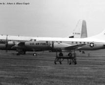 Convair T-29 O-15118 USAFE (+ Boeing C-97 O-30306) Wiesbaden 13-6-1971 J.A.Engels