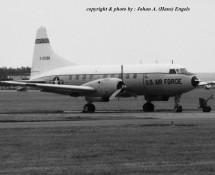 Convair T-29 O-21098 USAFE Wiesbaden 13-6-1971 J.A.Engels