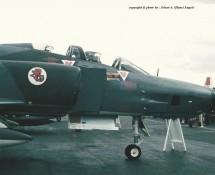 RF-4E Phantom II 35+21 (neus) DuitseLuftwaffe AKG.51 Wiesbaden 13-6-1971 J.A.Engels