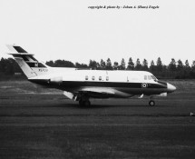Hawker Siddeley Dominie XS709 (M) RAF Wildenrath 6-7-1968 J.A.Engels