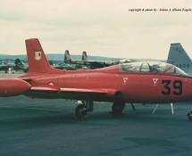 Macchi MB.326 39 (MM54239) Italiaanse LM Wiesbaden 13-6-1971 J.A.Engels