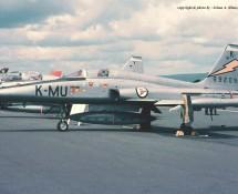 Northrop F-5A 69209 (MU-K) Noorse LM Wiesbaden 13-6-1971 J.A.Engels
