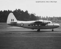 Pembroke WV729 RAF Wildenrath 6-7-1968 J.A.Engels