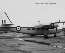 Pembroke XL953 RAF Wildenrath 6-7-1968 J.A.Engels
