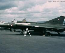 Saab F35 Draken A-013 Deense LM Wiesbaden 13-6-1971 J.A.Engels