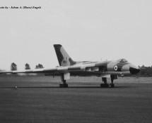 Vulcan XM655 RAF Wildenrath 6-7-1968 J.A.Engels