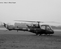 Westland Scout XT648 Royal Army Wildenrath  6-7-1968 J.A.Engels