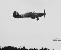 (warbird) Hurricane MI-D BoB Mem.Flt.RAF Wildenrath 6-7-1968 J.A.Engels
