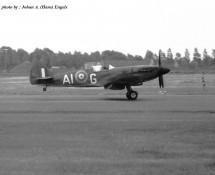 (warbird) Supermarine Spitfire AI-G RAF BoB Mem.Flt. Wildenrath 6-7-1968 J.A.Engels