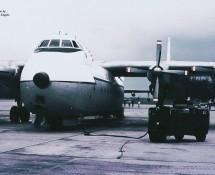 Argosy XN856 RAF Ramstein 11-6-1971 J.A.Engels