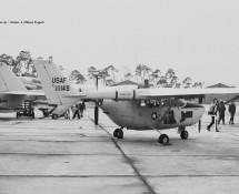 Cessna O-2A Skymaster 11149 USAF Ramstein 11-6-1971 J.A.Engels
