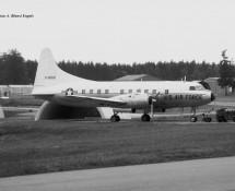 Convair T-29 O-15159 USAFE Hahn 10-6-1971 J.A.Engels