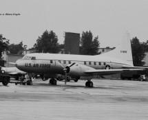 Convair T-29 O-15169 USAF Ramstein 11-6-1971 J.A.Engels