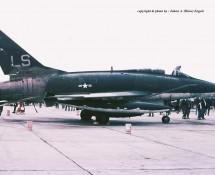 F-100D O-53812 (LS) USAFE 48TFW 493TFS Hahn 10-6-1971 J.A.Engels